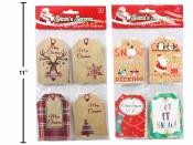 Christmas Kraft Gift Tags