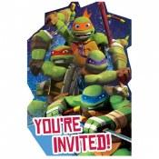 Tmnt Invites
