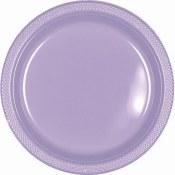 Lavender Dinner Plastic Plates