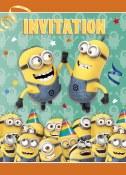 Despicable Me Invitations