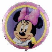 Minnie Portrait 18in Foil