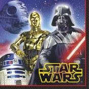 Star Wars Lunch Napkins