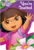 Dora Flower Invites