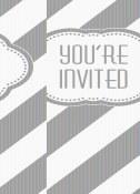 Golden Birthday Invites