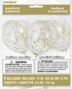 Confetti Latex Gold