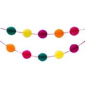 Honeycomb Ball Garland Multi