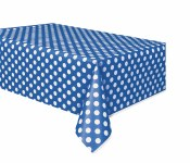 Polka Dot Tablecover Royal