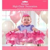 1st Birthday High Chair Decor