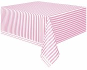 Stripe Tablecover Light Pink