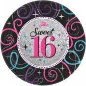 Sweet 16th Dessert Plates