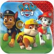 Paw Patrol Dessert Plates