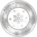Snowflake Dessert Plates