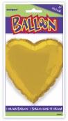 Heart Foil 18in Gold