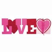 Love 3d Centerpiece