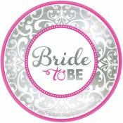 Classic Bride Dessert Plate