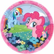 My Little Pony Dessert Plates