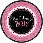 Bachelorette Dessert Plates