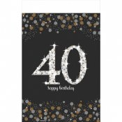 40th Sparkling Tablecover