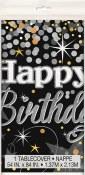 Glittering Birthday Tablecover