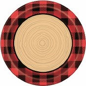 Lumberjack Lunch Plates