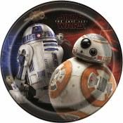 Star Wars Viii Dessert Plates