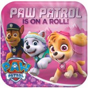 Paw Patrol Girl Dinner Plates