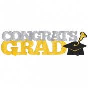 Grad Glitter Centerpiece