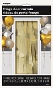 Metallic Curtain Gold