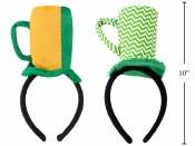 St Patrick Beer Mug Headband