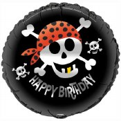 Pirate Bday 18 In Foil