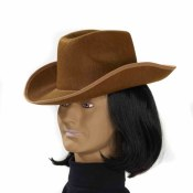Adult Brown Cowboy Hat