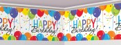 Balloon Birthday Banner Roll