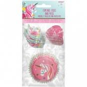 Unicorn Cupcake Cases & Picks