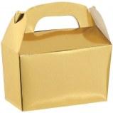 Treat Box Metallic Gold