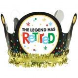 Retirement Foil Crown