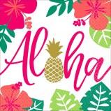 Aloha Lunch Napkins