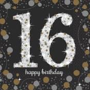 16th Sparkling Napkins
