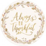 Thanksgiving Dinner Plates