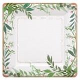 Love & Leaves Dessert Plates