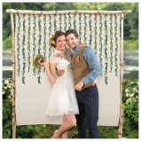 Canvas Love & Leaves Backdrop
