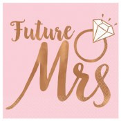 Future Mrs Beverage Napkins