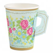 Tea Party 9oz Cup