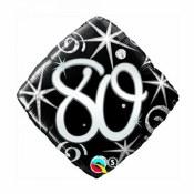 80th Birthday Foil Balloons