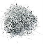 Silver Metallic Shred