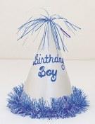 Birthday Boy Cone Hat