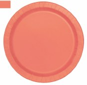 Coral Dessert Plates