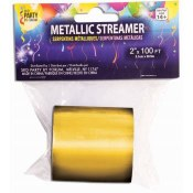 Metallic Streamer Gold