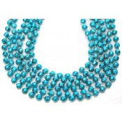 Metallic Beads Teal