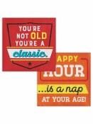 Age Humor Beverage Napkins