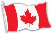 Canada Flag Cutout